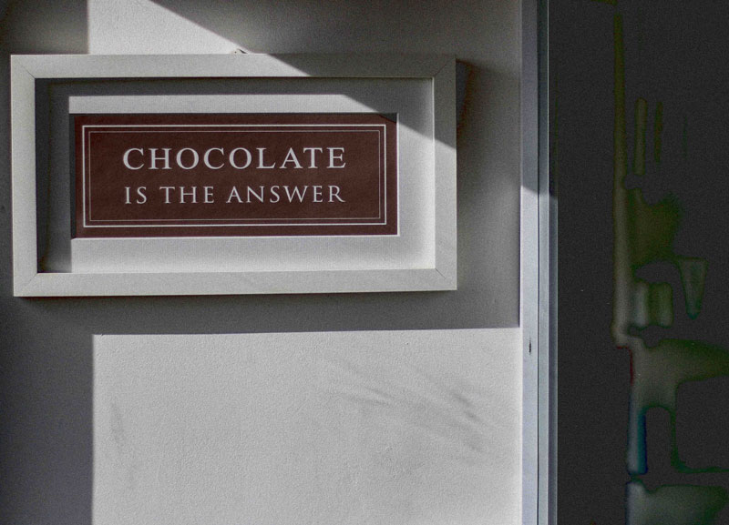 chocolate-is-the-answer